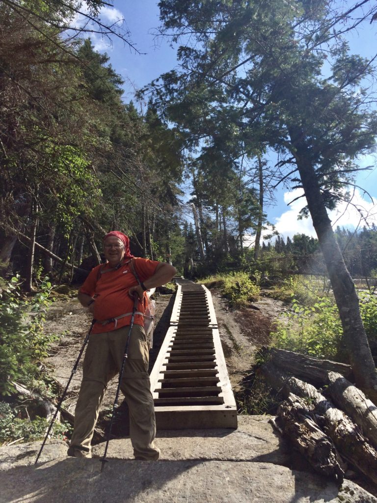 Huge kudos and an enormous thanks to the trail maintainers and volunteers who built this Stairway to Heaven. Incredible.