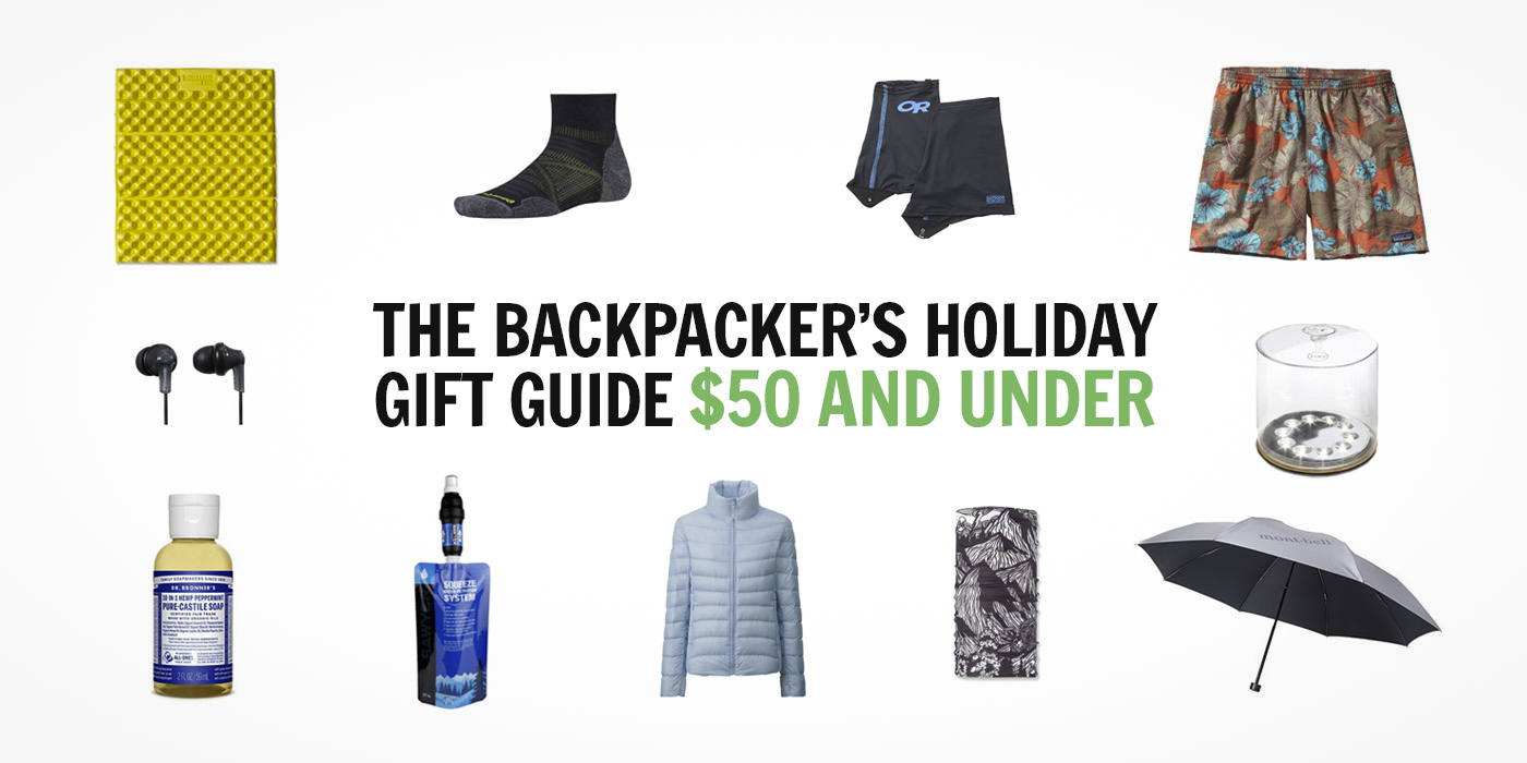 Our 2016 Backpacker's Holiday Gift Guide: Under $50 - The Trek