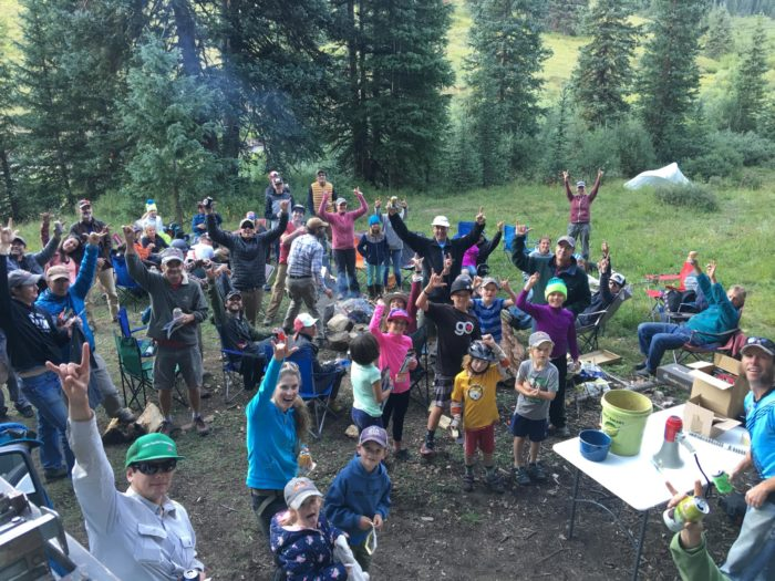 It's also nice that CBMBA knows how to party after all that hard work! PC: Crested Butte Mountain Bike Association
