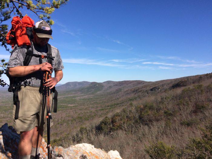 Shakedown Hike on the Pingotti Trail. (Talladega Nat'l. Forest, Ala.)
