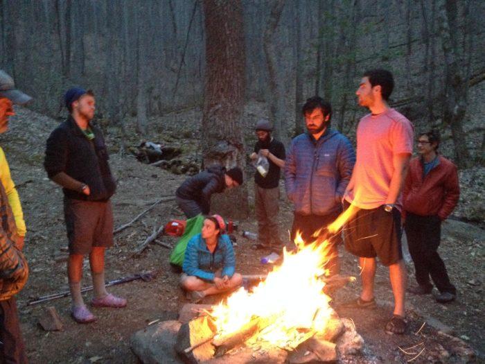 shelter campfire