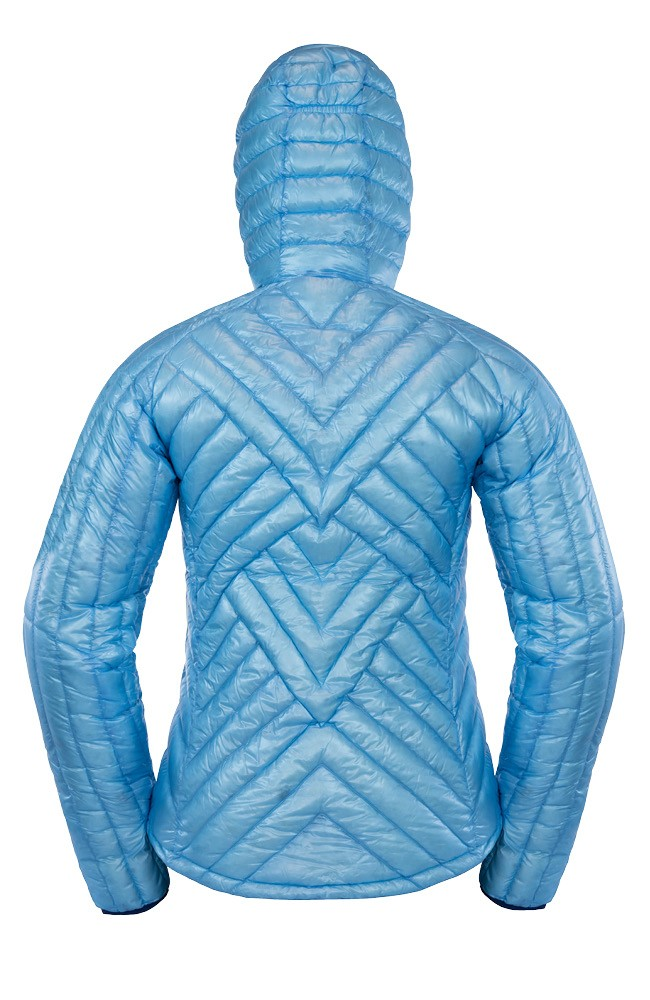 Light blue Big Agnes Down Jacket