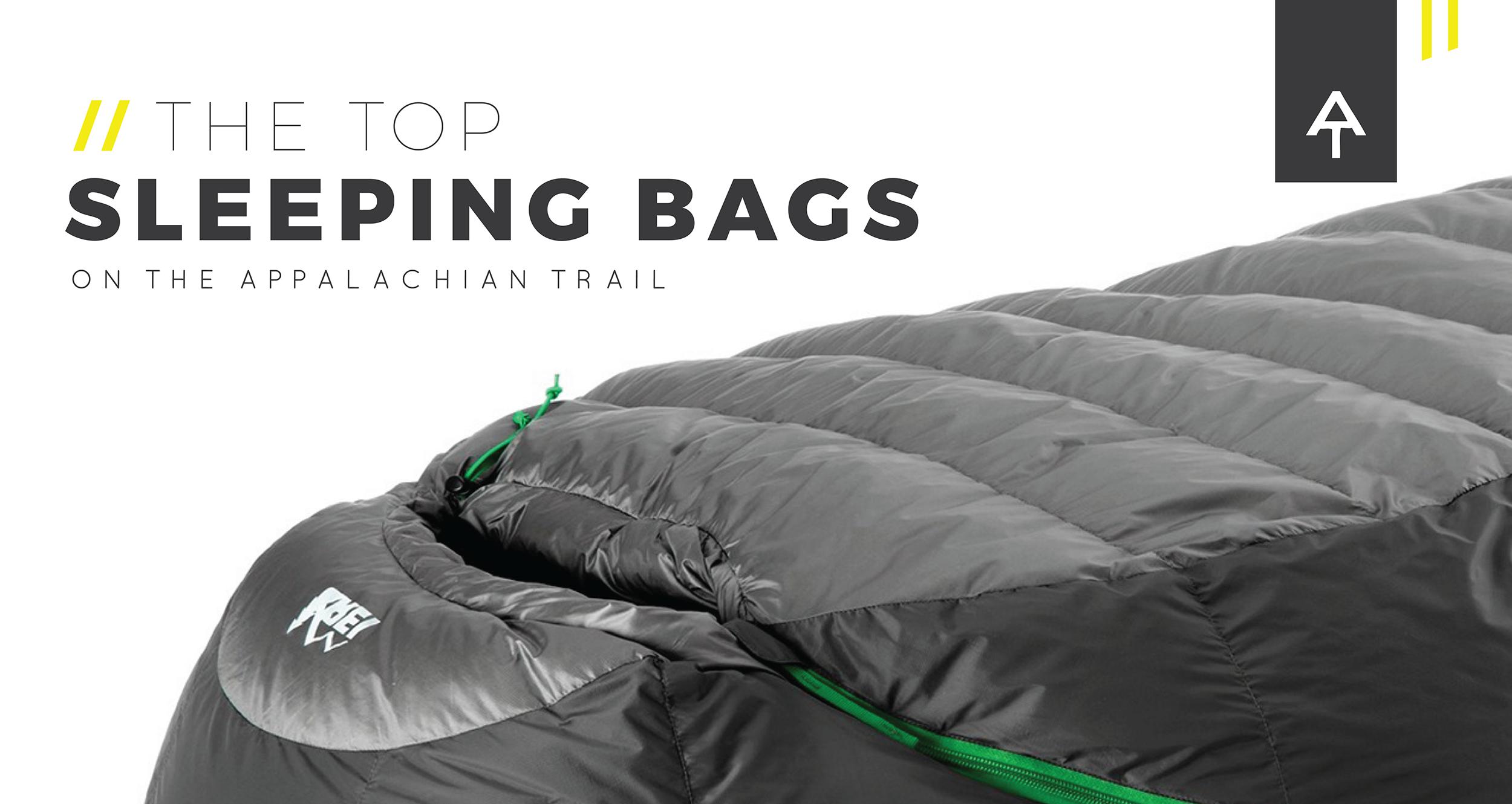 The Top Sleeping Bags On Alachian Trail 2017 Thru Hiker Survey Trek