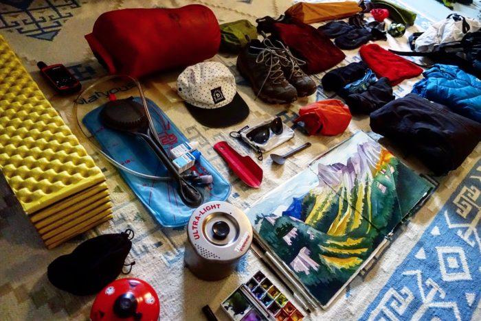 Hiker Artist Kit