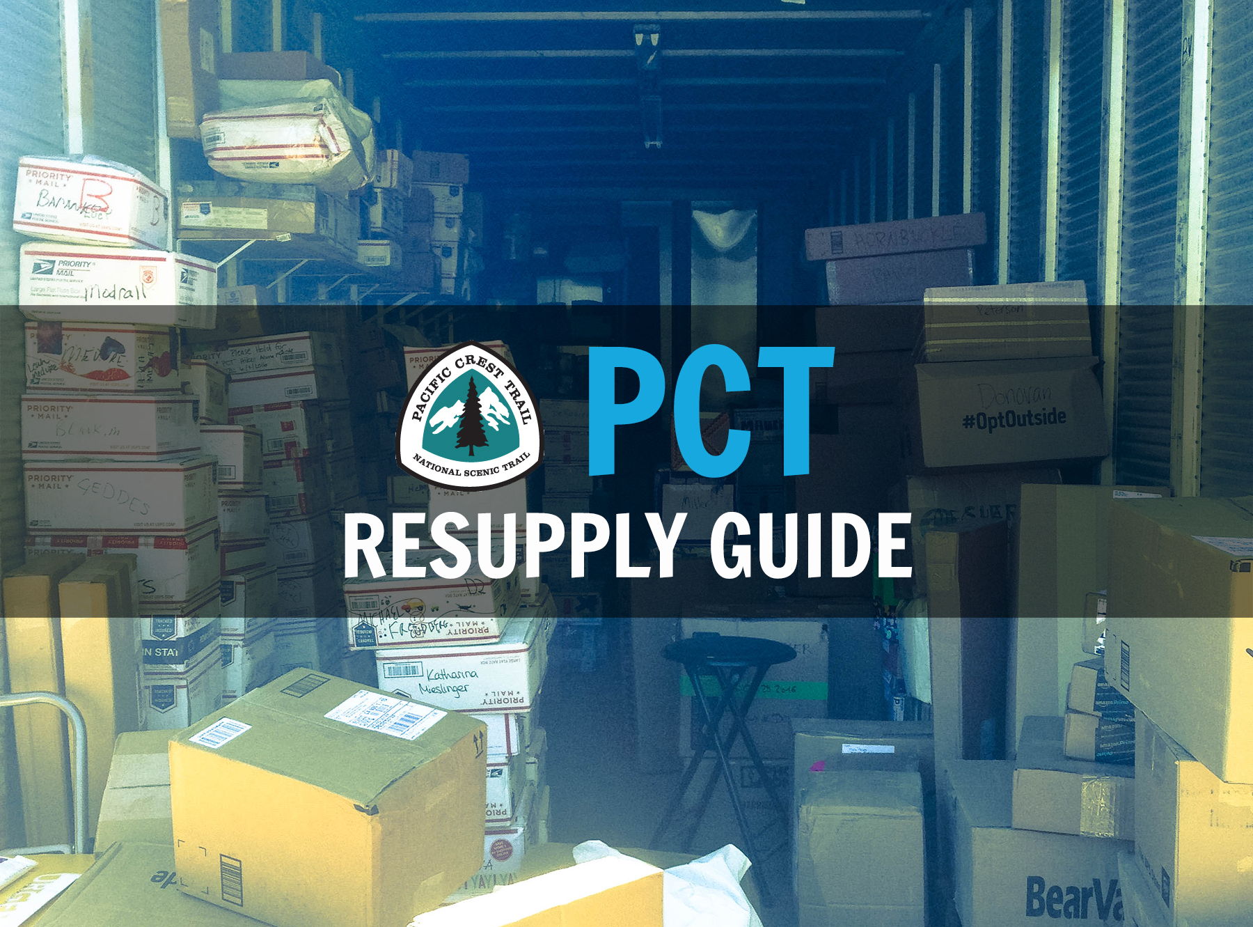 Pacific Crest Trail Resupply Guide - The Trek