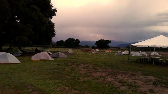 warner springs camping