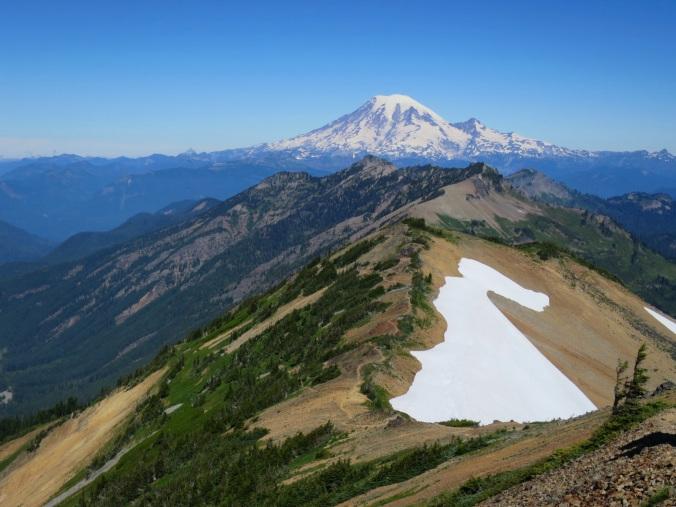 Mt. Rainier from Old Snowy