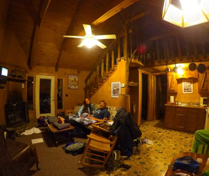 Our cabin!