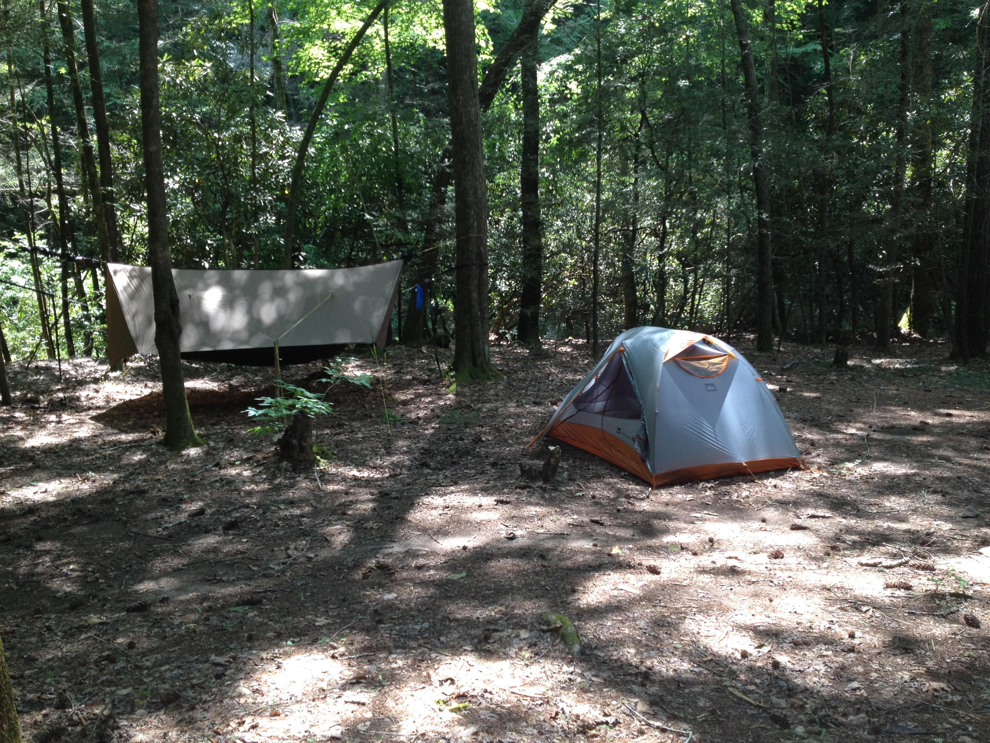 Why I Chose A Tent Over A Hammock For My AT Thru Hike
