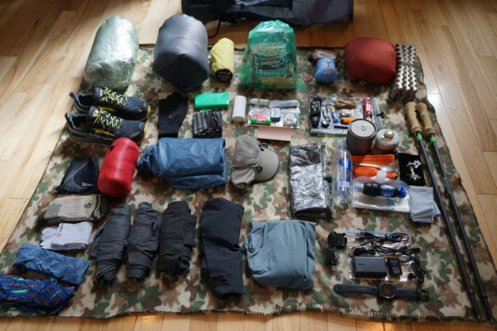 Jim McNelis Thru Hike Gear