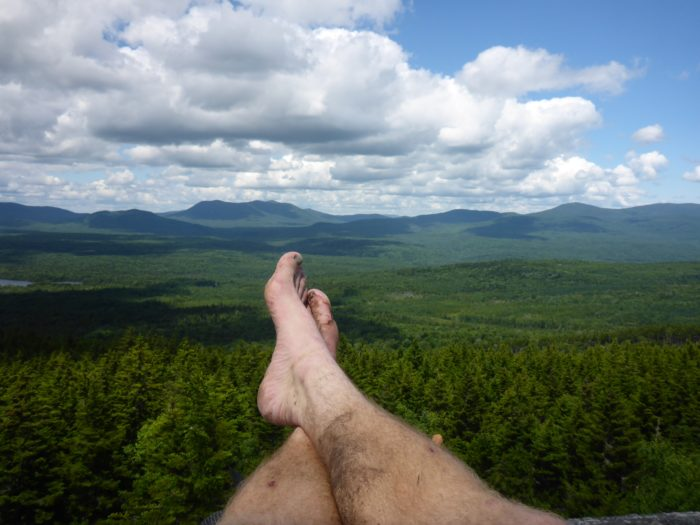 Feet Over Maine