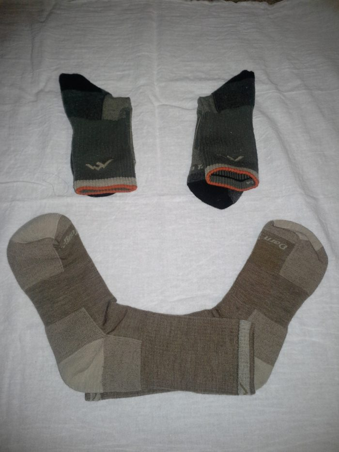 These are the socks you will have if you take care of them.