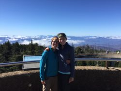 From the top of Clingman's Dome