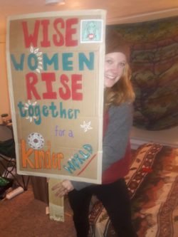 taken for the Women's March but holds true for all acts of kindness.
