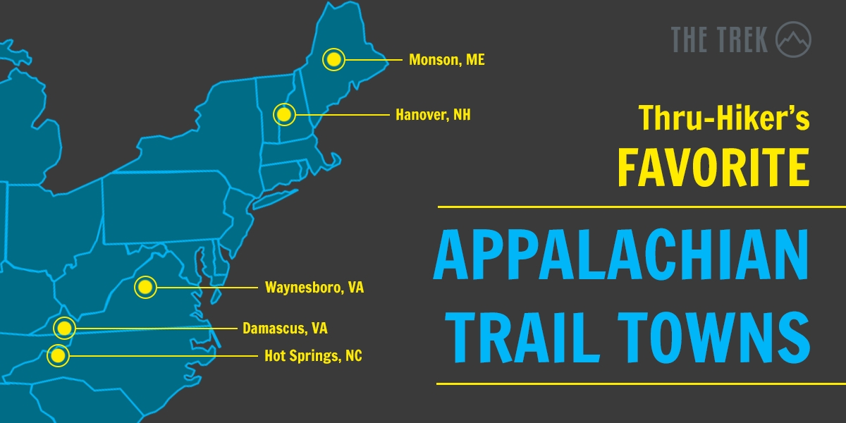 The Best Appalachian Trail Towns