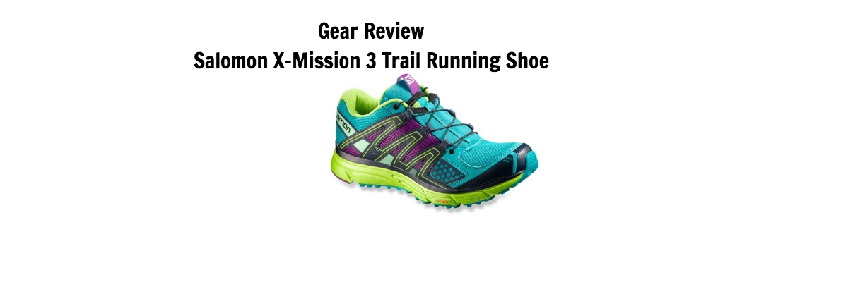 Salomon X-Mission 3 Trail Running Shoe Review