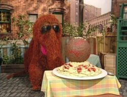 snuffy-on-top-of-spaghetti