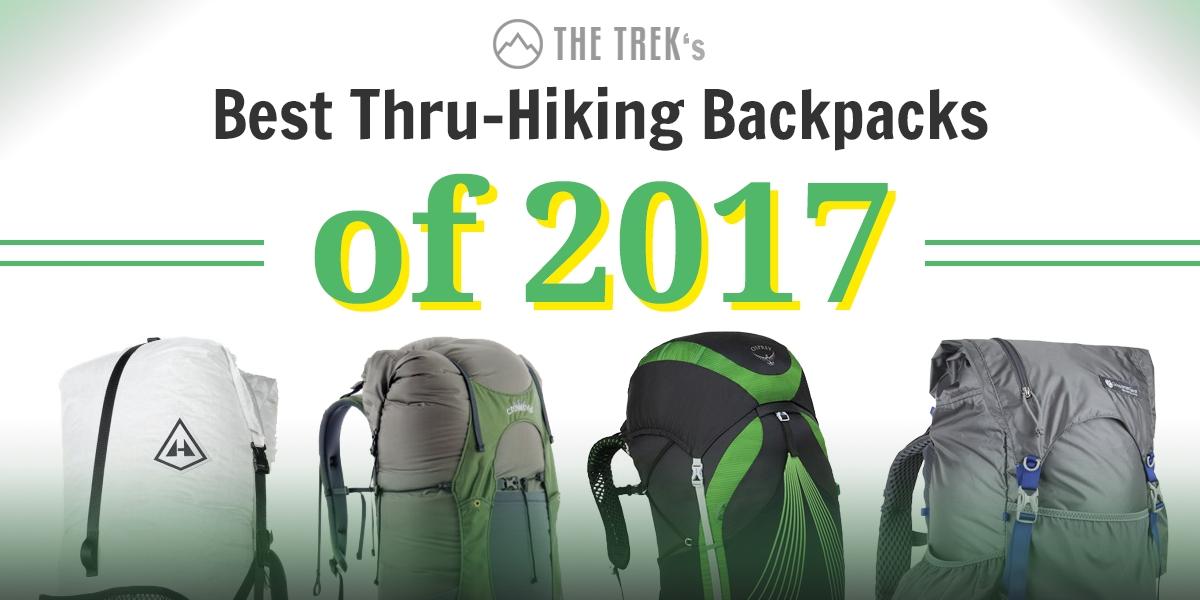 87eedad8dc Best Thru Hiking Backpacks of 2017 - The Trek