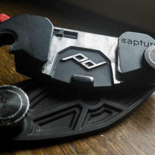 Capture Clip by Peak Design used to thuhike long distance hiking trails