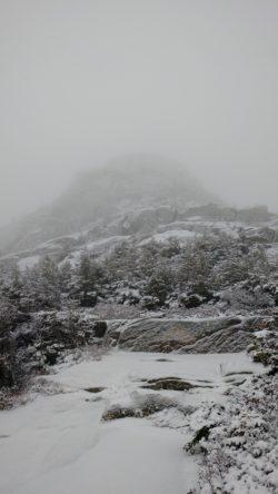 Mt. Chocorua, Thanksgiving 2016