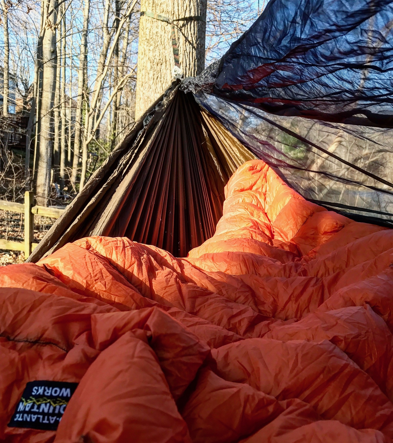 i had been told by a few people that if you u0027re new to hammocking it may be better to stick with standard straps and buckles  like the blackbird  es with      thru hiking the appalachian trail with a hammock   the trek  rh   thetrek co