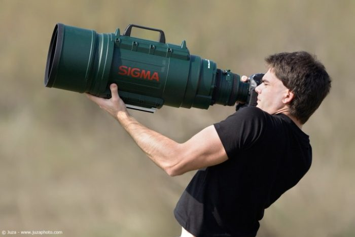 huge lens