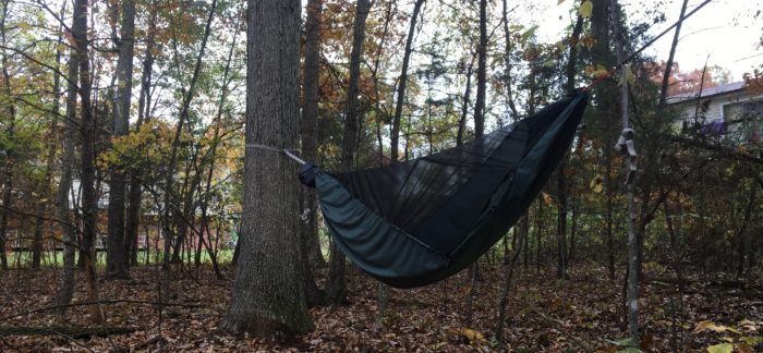 Review And Video Dutchware Half Zipped Netted Hammock