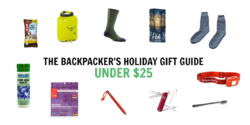 backpackers holiday gift guide under 25