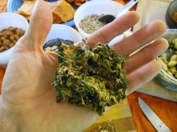Kale Chips - by Aria Zoner