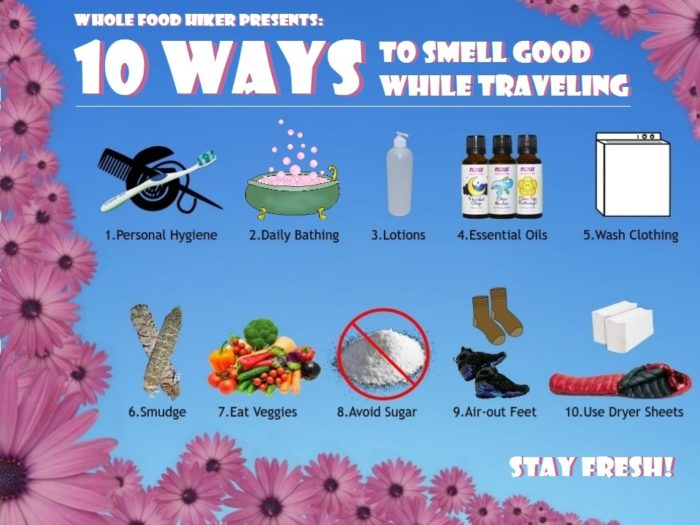 10 ways to smell good - by Aria Zoner