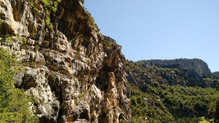 Part of Les Gorges du Verdon, France