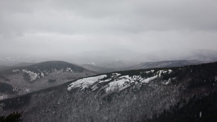 View from Welch-Dickey Loop, NH, December 2016