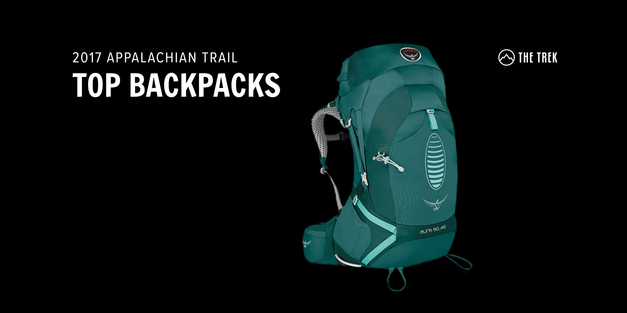 Top Backpacks on the AT: Results from the 2017 Hiker Survey