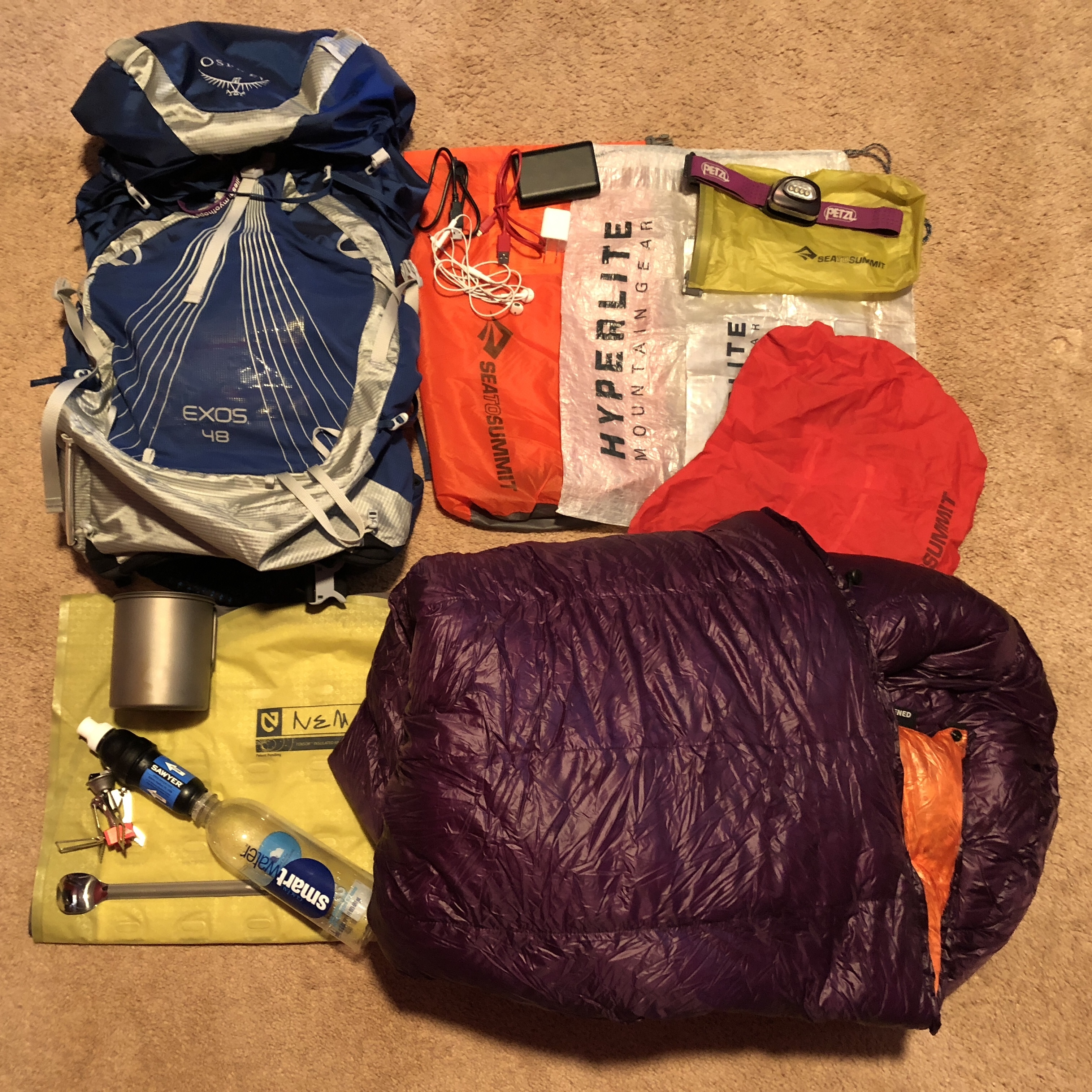 What I M Packing For The Pct The Trek