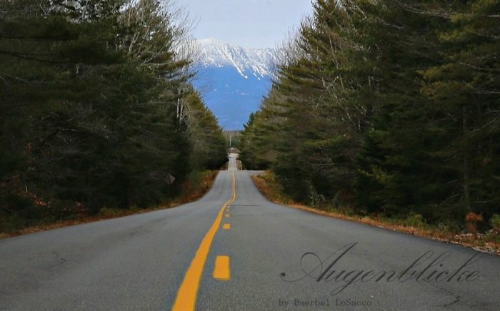 View of Mt. Katahdin from Golden Road
