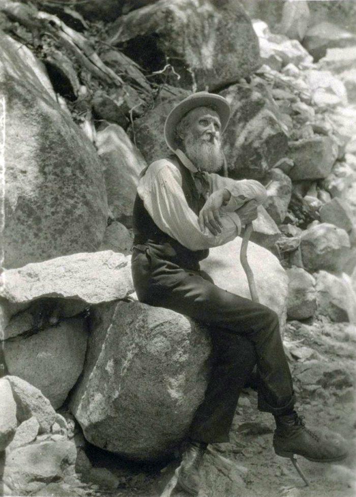 a photo of John Muir