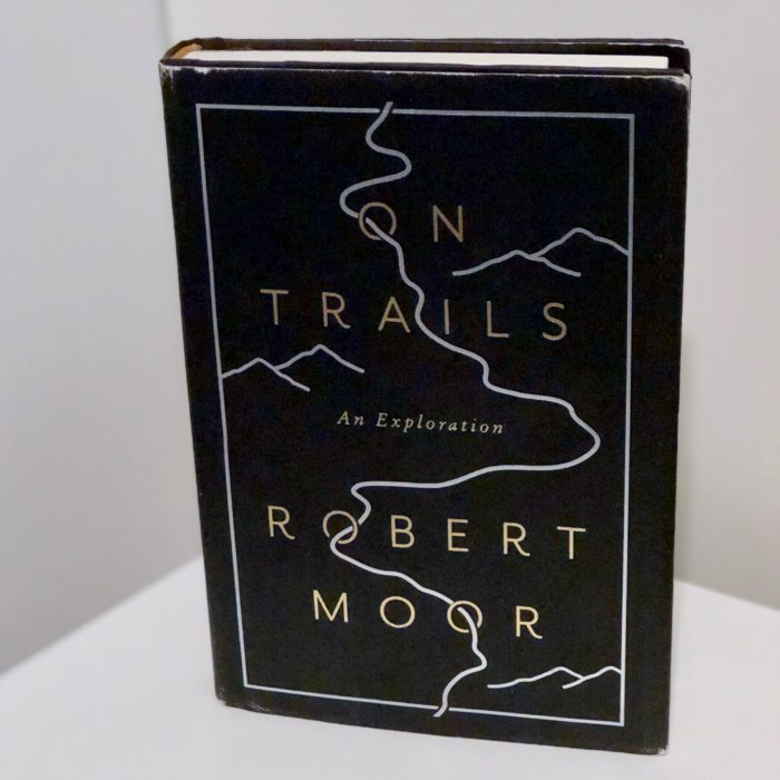 a photo of On Trails book