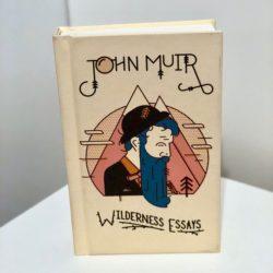 a photo of John Muir Wilderness Essays book