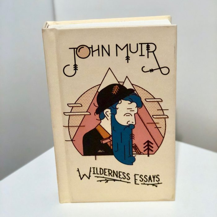 a photo of John Muir Wilderness Essays book