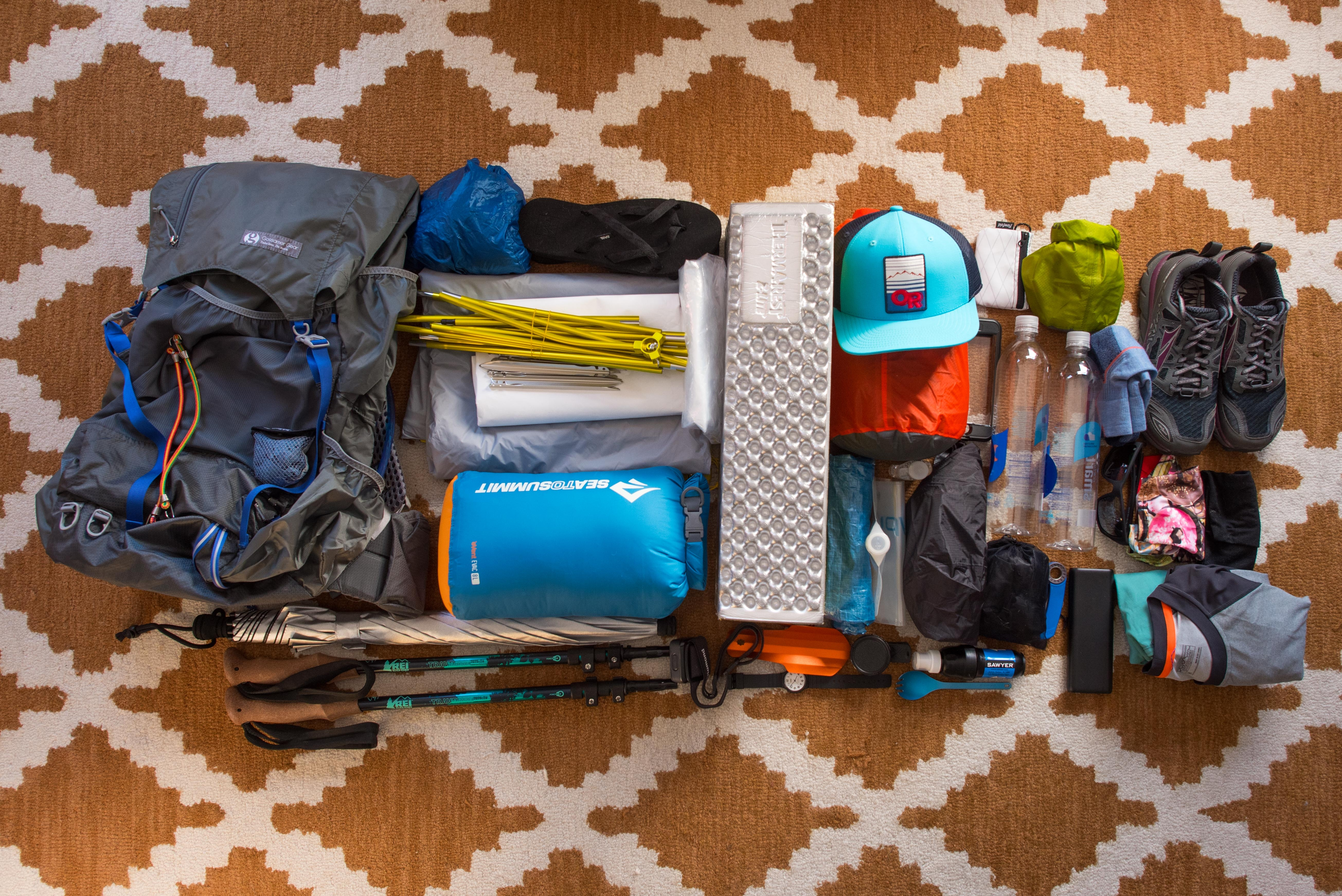 PCT 2018 Gear List: What's In My Pack