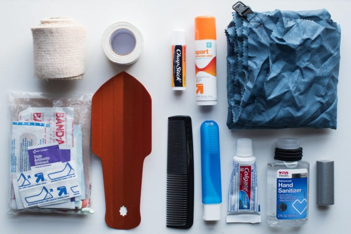 toiletries pct gear list 2018
