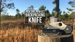 Pick the perfect backpacking knife