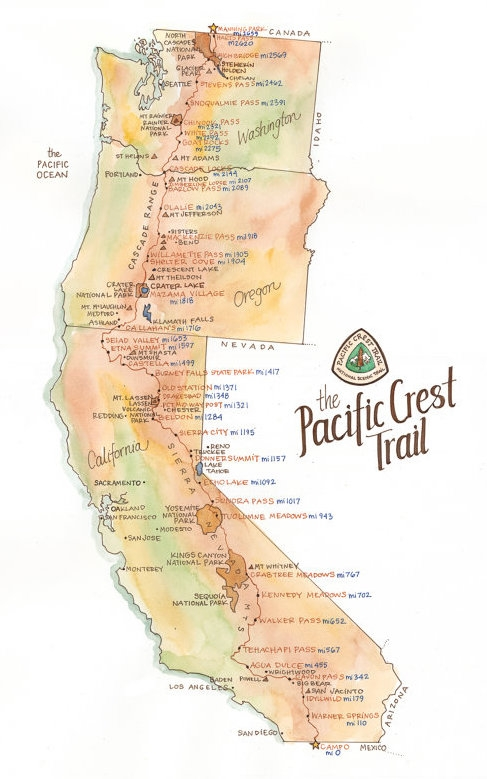 PCT map drawn