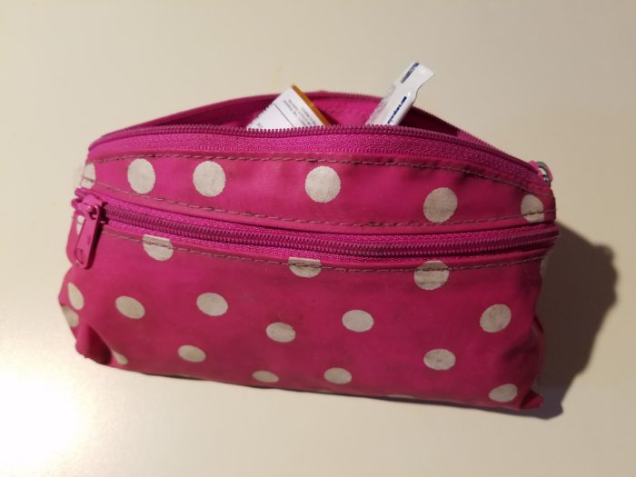 tampon case first aid kit - 7 ounces