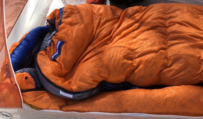 dbb633ddfce Review: Feathered Friends Petrel UL 10 Women's Sleeping Bag - The Trek