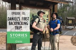Daniel's First Backpacking Trip!