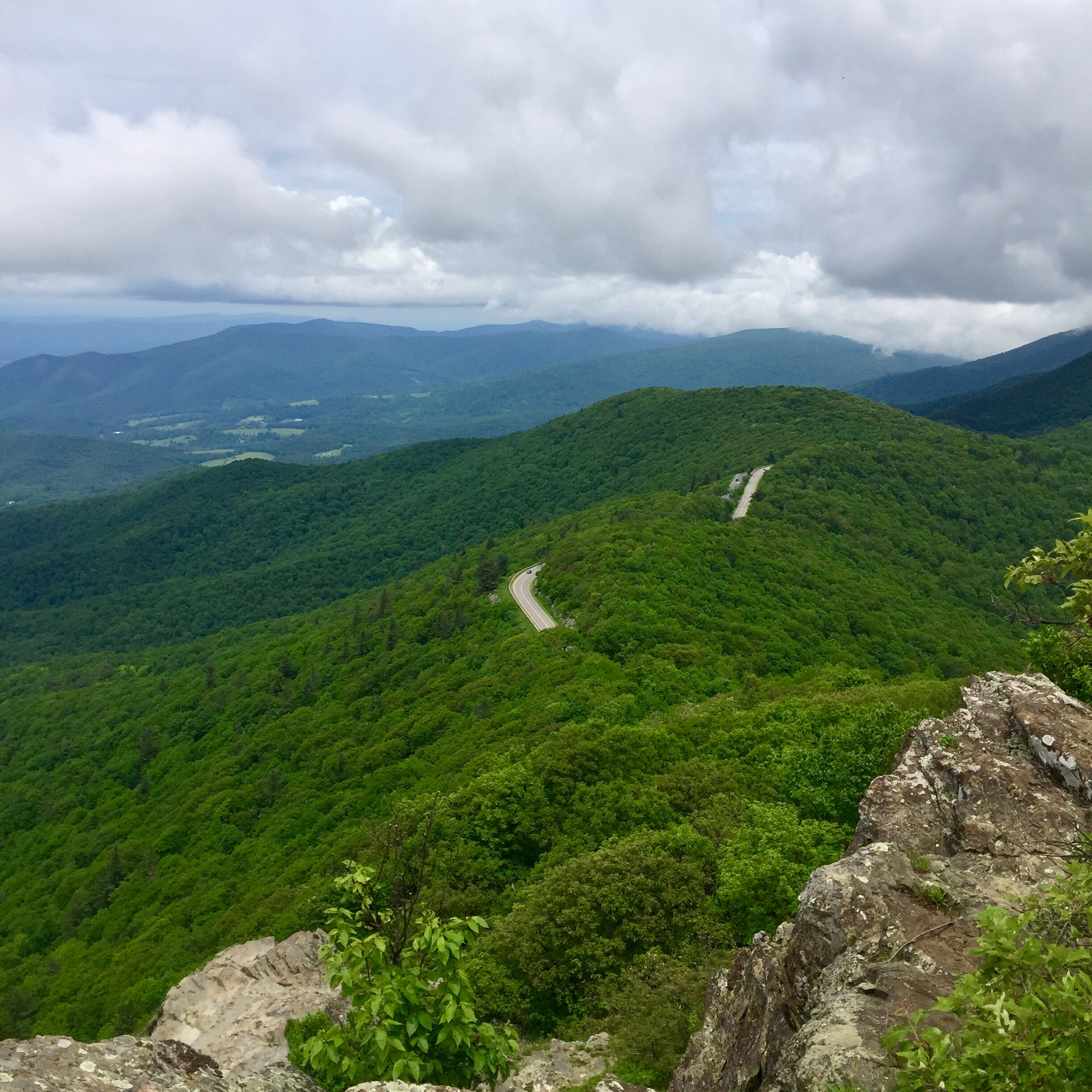 Hiking Through Shenandoah National Park