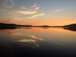 appalachian trail long pond maine