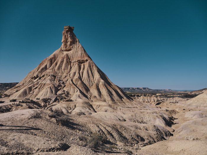 bardenas reales desert, spain