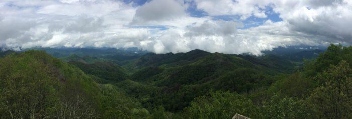 Wesser Bald Appalachian Trail